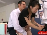 Secretary Getting Her vagina Stimulated And plowed With Toys By three dudes In The Office by thebobbob