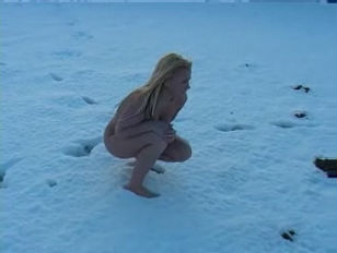 Lindsay anne Wheatcroft naked on snow.