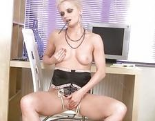 Anilos cumming in the office