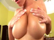 Busty Chiquita gets oiled up - || wwwPor. .