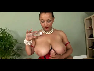 big Oiled breasts