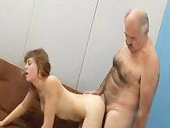 mature dudes pounded young broad