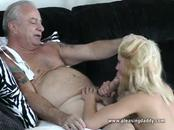 cute Goldie banged By mature stud