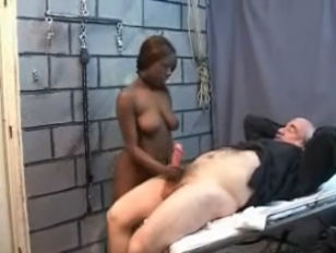 Interracial older and teen