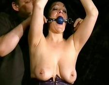 Whipping To Tears of old Amateur Slave China