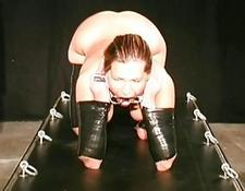 Slave had her melons bounded