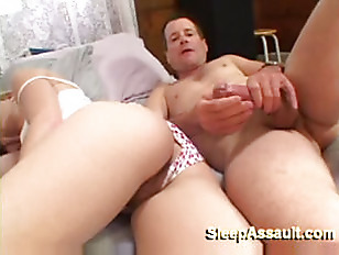 pretty blonde gets nailed while she s.