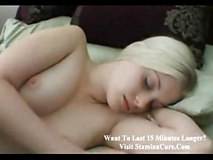Sleeping blondie young POV