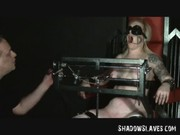 Tower of Pain for yellow-haired Slavegirl Angel  .