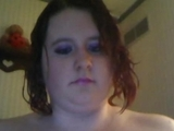 BBW young with humongous natural titties and chunky twat smokes on cam by blairebear