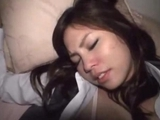 Office girl In Pantyhose Getting Her cunt hammered Creampie On The Bed In The Dark Room by sotegune