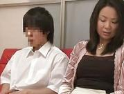 Mother and son watching porn together experiment  three