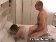 Mother wearing pantyhose penetrated