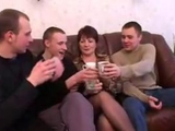 Mother and boyfriend drunks and rides with friends after the party by anonymous