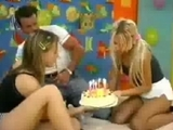 two thin teens get poked 1 by one by SearchTubescom.
