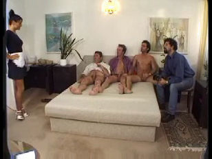 four guys and the housemaid