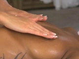 Massage Rooms Lesbian gspot tantric cumming for black girl by ReallyUseful