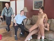 petite and hot ex-wife got her wet snatch licked