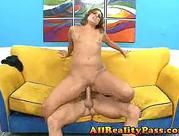 Sloppy wet sex with squirting twat