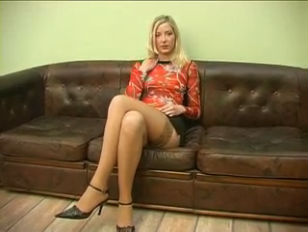 Russian blonde Student poked Hard