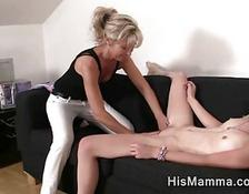 girl gets seduced by mature lesbian who wants to touch her tight twat