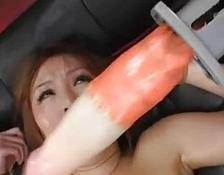 Hot Sauce Vibrators And Hairy Thai cunt