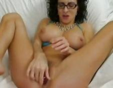 Playing with various sex toys on live cam