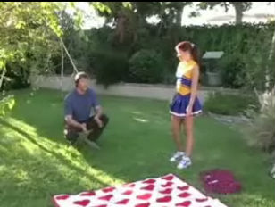 petite Cheerleader fucked