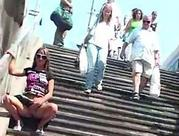 Upskirt and Public Nudity Flashing Fun with Hot Body Babes