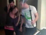 two studs abuse their roomate on webcam by blairebear