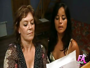 Spanish mother and daughter fucking