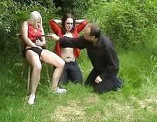 kinky Forest of Lesbians Dominated