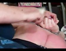 Very dirty boy gets a spanking he deserved