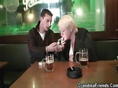 two buddies pick up drunk grandmother
