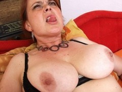 Beginner mom id like to fuck Lora around oustanding true chest and toy