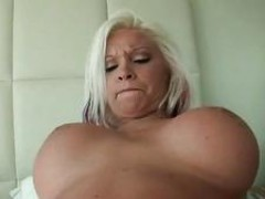 Punk looking gf Dee drilled and facialed