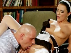 Extremely Hot Maid rides Boss