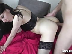 Amateur blowjob and Anal Fuck