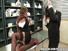 Madison Ivy's perfect behind gets sp.