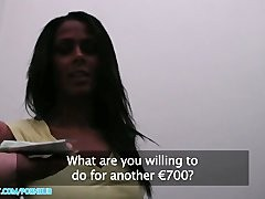 PublicAgent HD Hot attractive ebony babe needs a lift and takes cash for sex