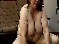 naughty fat Housewife Having An orgasm