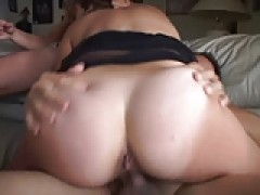 Hot Tanlined Hairy skank Heidi Gets Double sperm Blessing
