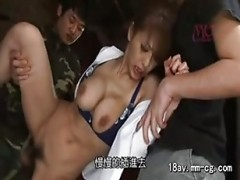Japanese sweety getting poked de.