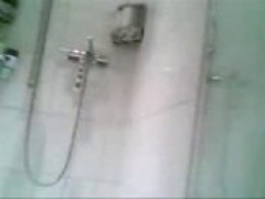 chinese old girl In The Shower