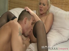 MOM young lover rides his MILF lover