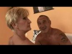 Hairy blondy granny is a girl by TROC