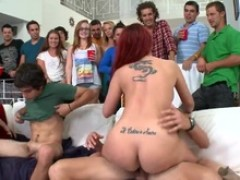 Actresses crash another party