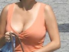 Candid - Busty Bouncing breasts Vol 11