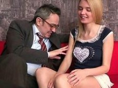 Horny cougar tutor giving lessons