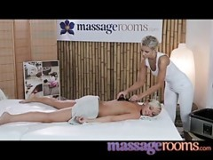Massage Rooms young yellow-haired lesbia.